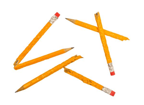 bad habits broken pencils