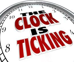 clock is ticking watch