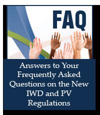 New Regulations FAQ