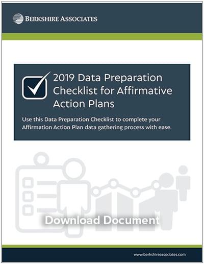 2019 Data Preparation Checklist