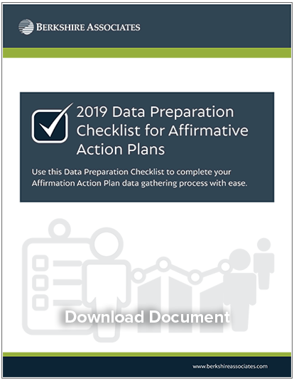 2019 Data Preparation Checklist