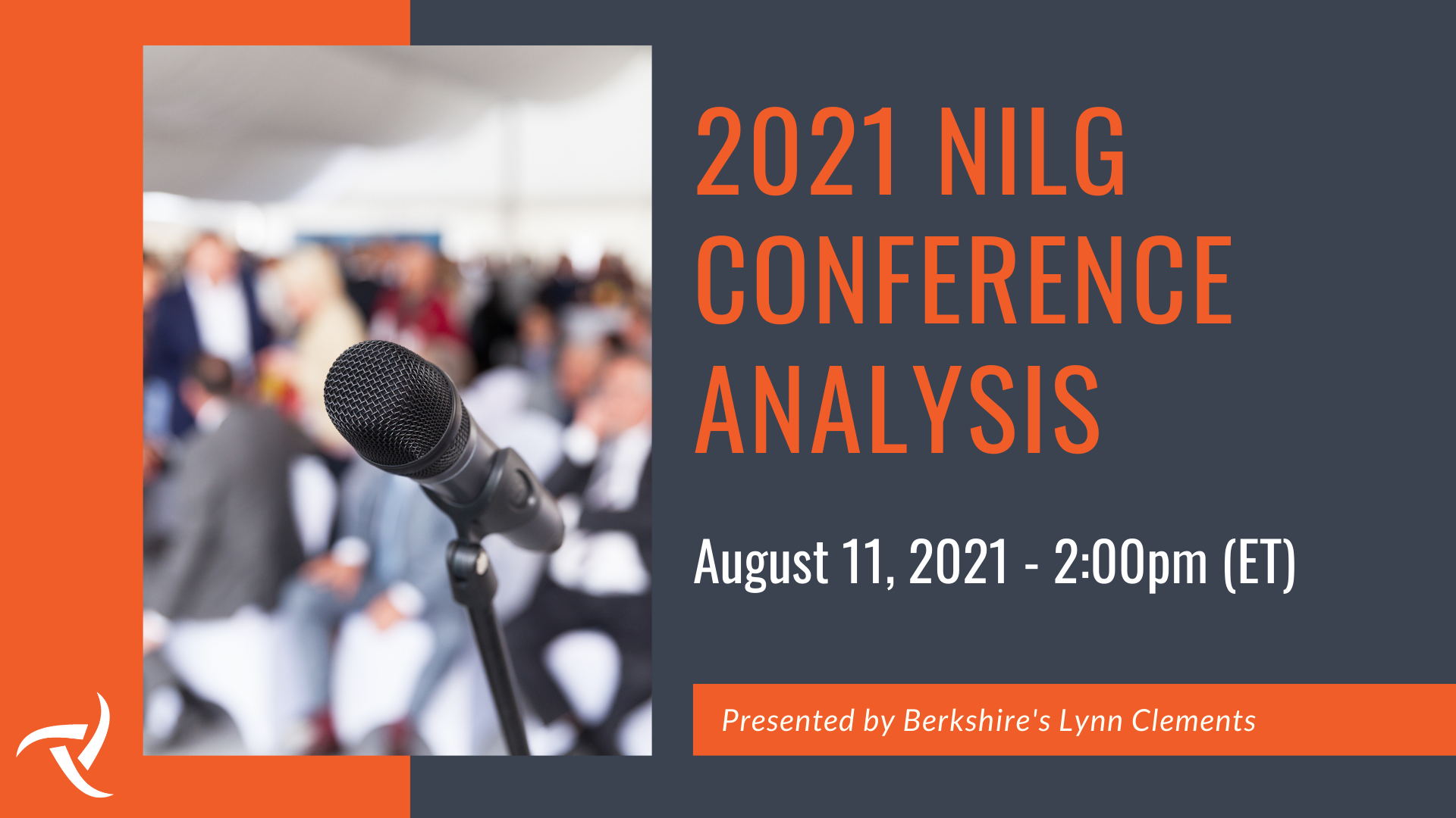 2021 NILG Conference Analysis - August 2021 Webinar - Email Banner Image