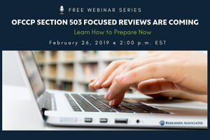 FREE Webinar on OFCCP Section 503 Focused Reviews and How ...