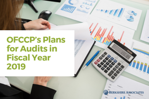 OFCCP's Plans for Audits in Fiscal Year 2019