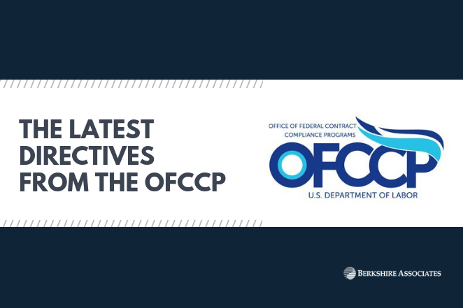 Latest Directives OFCCP
