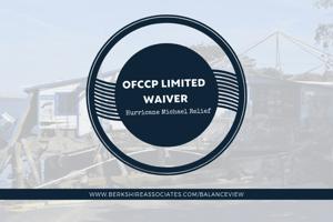 OFCCP Hurricane Michael Relief Blog