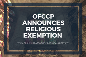 OFCCP Religious Exemptions Directive