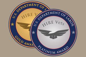 2018 HIRE Vets Medallion Recipients