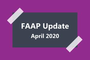 FAAP Update April 2020
