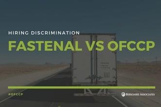 Fastenal OFCCP Hiring Discrimination