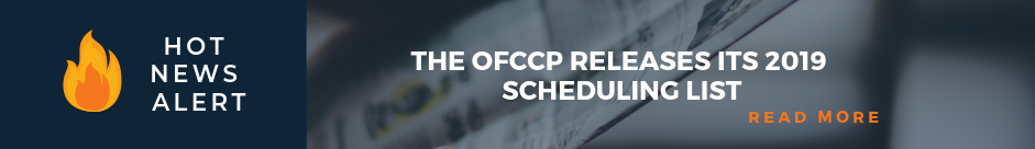 OFCCP Releases Affirmative Action Scheduling List