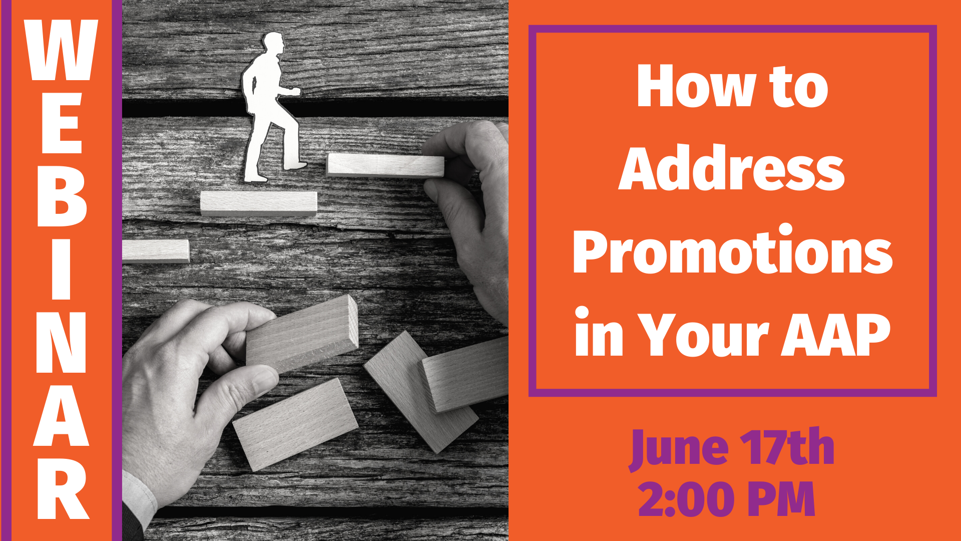 How to Address Promotions in Your AAP