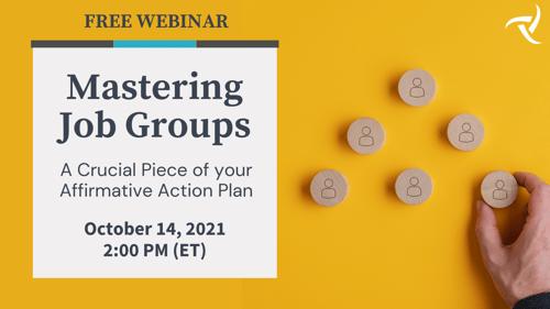 Mastering Job Groups - October 2021 Webinar - Banner Image