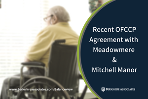 Meadowmere Mitchell Manor OFCCP Ruling