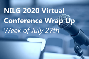 NILG Virtual Conference Week of July 27