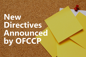 New Directives Announced by OFCCP