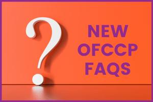 New OFCCP FAQS