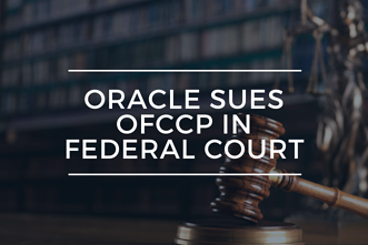 Oracle Sues OFCCP in Federal Court