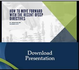 OFCCP Directives Premium Paper
