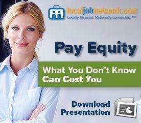 Pay Equity webinar slides