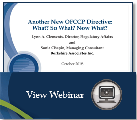 hs_spk_Another_New_OFCCP_Directive_Oct 2018