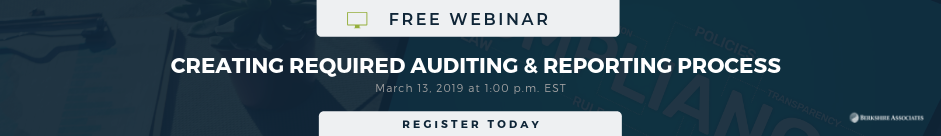 Auditing and Reporting Slider
