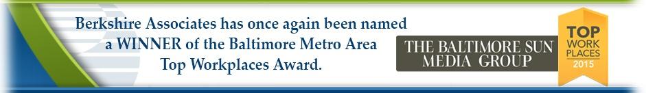 Baltimore Sun WEorkplace Award