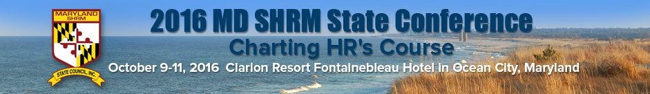 2016 MD SHRM State Conference
