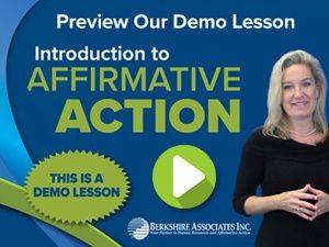 Try our DEMO Introduction to Affirmative Action Lesson