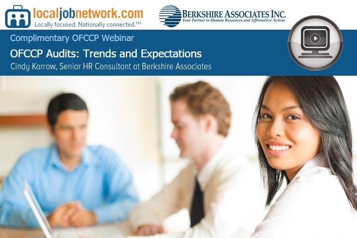 OFCCP Audit Trends National Webinar