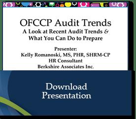OFCCP Audit Trends