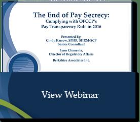 Pay Secrecy Webinar