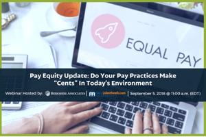 Pay Equity LocalJobNetwork Webinar
