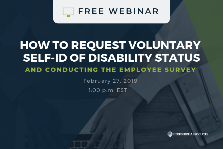 FREE Webinar: Learn Best Approach for Collecting Self-ID Info From your Employees
