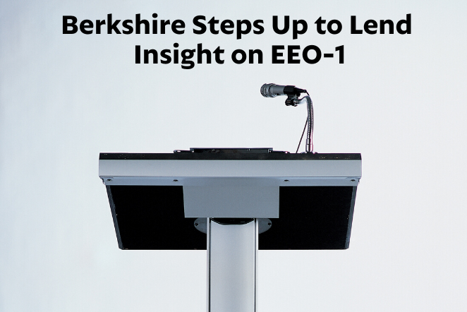Berkshire Steps Up to Lend Insight on EEO-1
