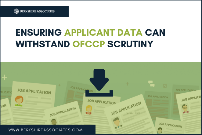 Ensuring Applicant Data Can Withstand OFCCP Scrutiny