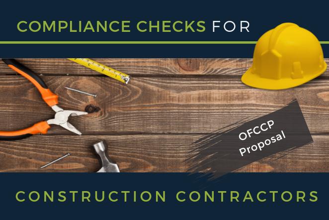 OFCCP Proposes Compliance Checks for Construction Contractors