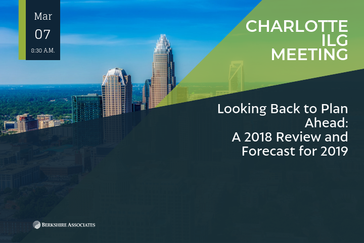 Berkshire's President Reviews OFCCP Compliance in 2018 and Forecast for 2019 at Charlotte ILG Meeting