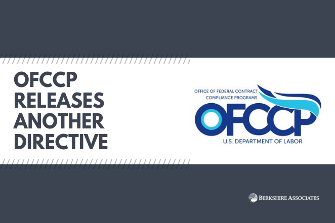 OFCCP Releases Another Directive