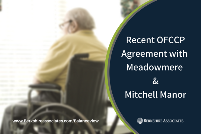 Recent OFCCP Agreement with Meadowmere/Mitchell Manor