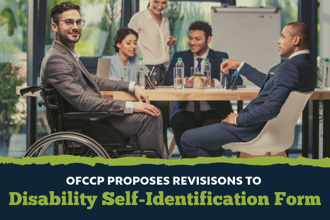 OFCCP Proposes Revisions to Disability Self-Identification Form