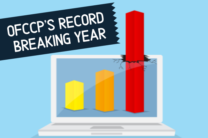 OFCCP's Record Breaking Year