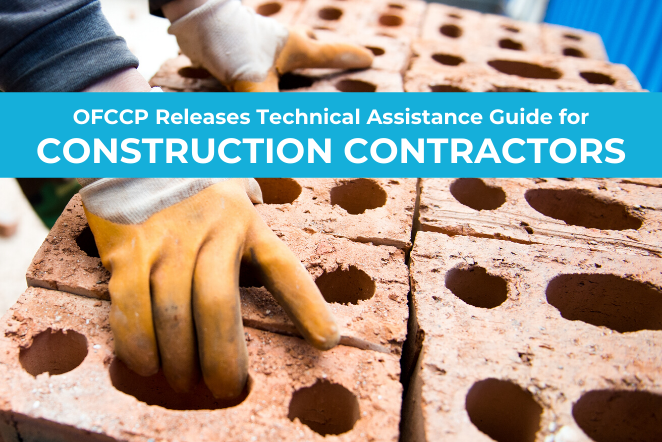 OFCCP Releases Technical Assistance Guide for Construction Contractors