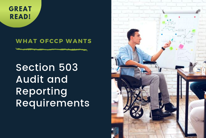 What OFCCP Wants: Section 503 Audit and Reporting Requirements