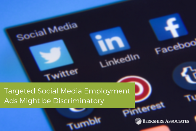 Targeted Social Media Employment Ads Might be Discriminatory