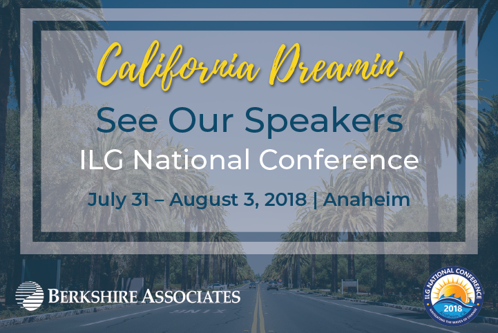 Berkshire Experts to Present at the 2018 ILG National Conference in Anaheim