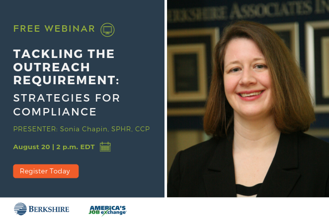 Free Webinar - Tackling the Outreach Requirement: Strategies for Compliance with Expert Sonia Chapin