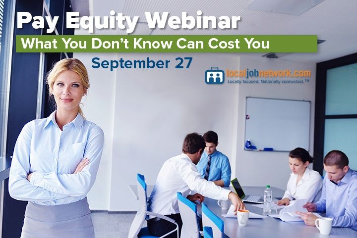 Learn About Pay Equity Analysis in September 27 Webinar