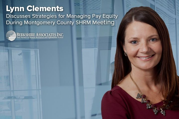 Lynn Clements Examines Pay Gap During Montgomery Co. SHRM Meeting