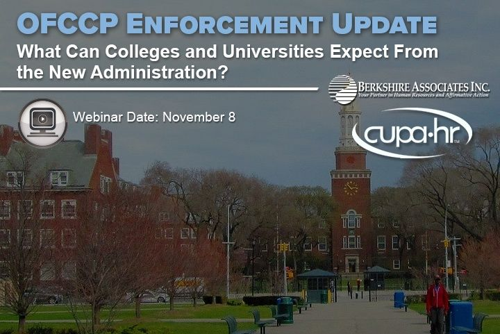 Learn What Colleges and Universities Can Expect From the New Administration in November 8 Webinar